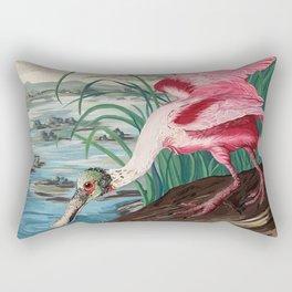 Roseate Spoonbill Rectangular Pillow