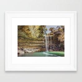 Hamilton Pool Framed Art Print