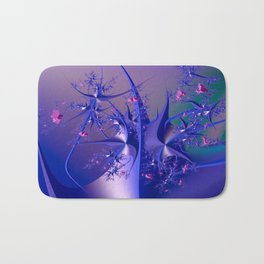 The dance of flowers Bath Mat