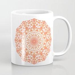 Mandala 12 / 4 eden spirit orange Coffee Mug