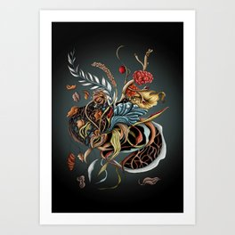 Fall fantasy Art Print