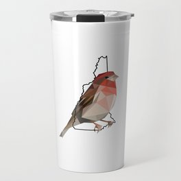 New Hampshire – Purple Finch Travel Mug