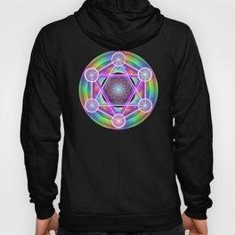 Rainbow Net Metatron Hoody