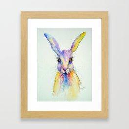 Hare Art Print Framed Art Print