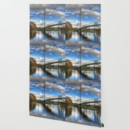 Christchurch Footbridge Reading Wallpaper