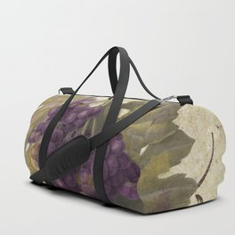 Tuscan Table Merlot Duffle Bag