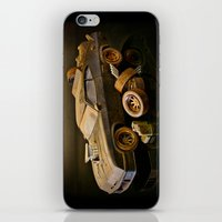 mad max iPhone & iPod Skins featuring Mad Max Interceptor by Ewan Arnolda
