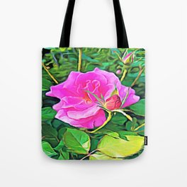 Pink Flower of Graceful Beauty Tote Bag