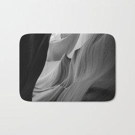 Canyon (Black and White) Bath Mat