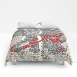 Roll Tide (Alabama Elephant) Comforters