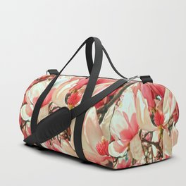 Magnolia Blossoms Duffle Bag