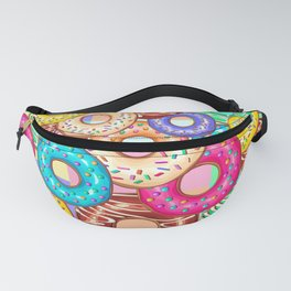 Donuts Punchy Pastel flavours Pattern Fanny Pack