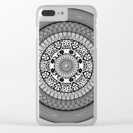 future mandala Clear iPhone Case