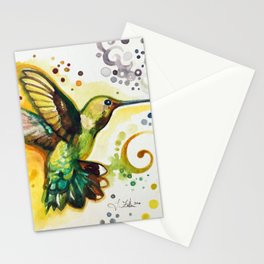Hummingbird by Laura Zollar Stationery Cards