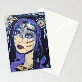 SKADI - Original painting - Marina Taliera Stationery Cards