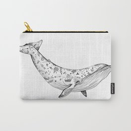 The tattooed whale - New version Carry-All Pouch