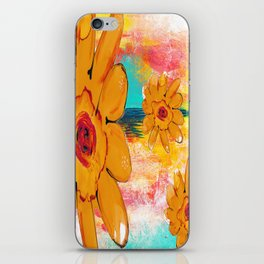 ALTERNATE UNIVERSE FLORAL iPhone Skin
