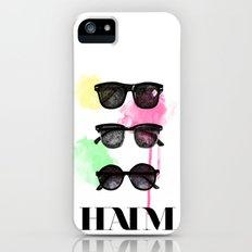 Haim (colour version) Slim Case iPhone (5, 5s)