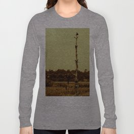 Lonely Crow Long Sleeve T-shirt