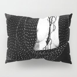 asc 856 - L'interview (Shades of red) Pillow Sham