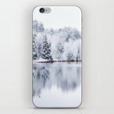White Wonder Reflection iPhone & iPod Skin