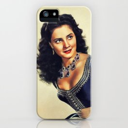 Jody Lawrance, Vintage Actress iPhone Case