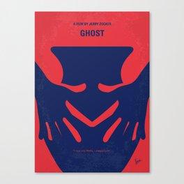 No971 My Ghost minimal movie poster Canvas Print