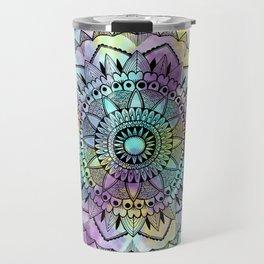 Colourwash Mandala Travel Mug