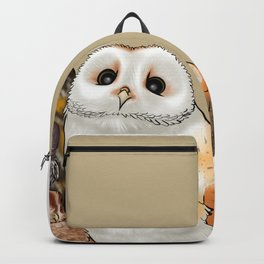 Owl Family Photo Backpack