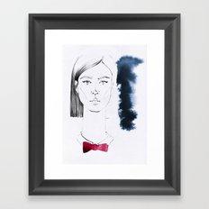 Dina Framed Art Print