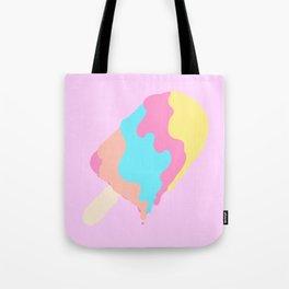 Popsicle Illusion Tote Bag