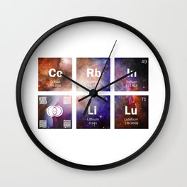 The 5th Element Wall Clock