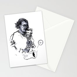 russ gershon of the either orchestra Stationery Cards