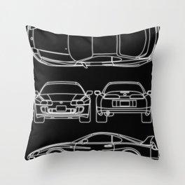 Supra Mk 4 Throw Pillow