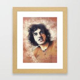 Joe Cocker, Music Legend Framed Art Print