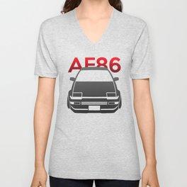 Toyota AE86 Hachi Roku Unisex V-Neck