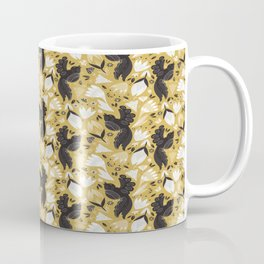 Birds & Bugs in Yellow Coffee Mug