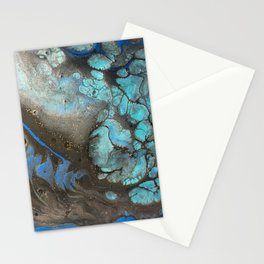 Teal Cell Stationery Cards