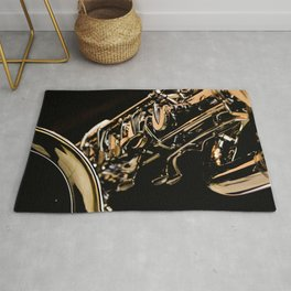 Musical Gold Rug