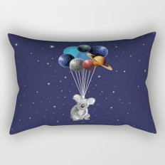 Koala Space Celebration Rectangular Pillow