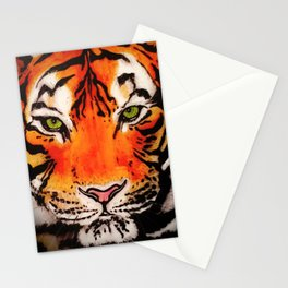 Tiger in the Shadows Stationery Cards