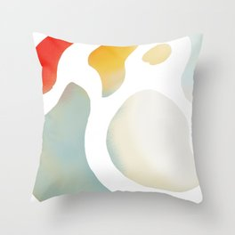 Color Orb Throw Pillow