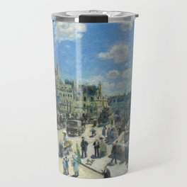 Pont Neuf Paris Painting by Auguste Renoir Travel Mug