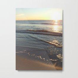 NJ Shore waves and beauty Metal Print