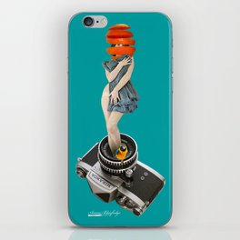 photographing every delicious moments iPhone Skin