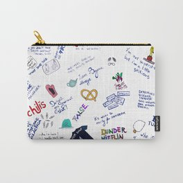 The office doodle Carry-All Pouch