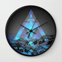Neither Real Nor Imaginary Wall Clock
