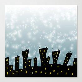 Starry Starry Starfish Canvas Print