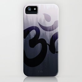 OM: Hint of Mist iPhone Case
