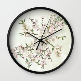 Bloom and blossom Wall Clock